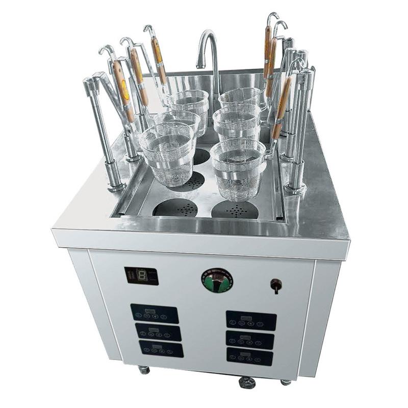 电磁自动煮面炉